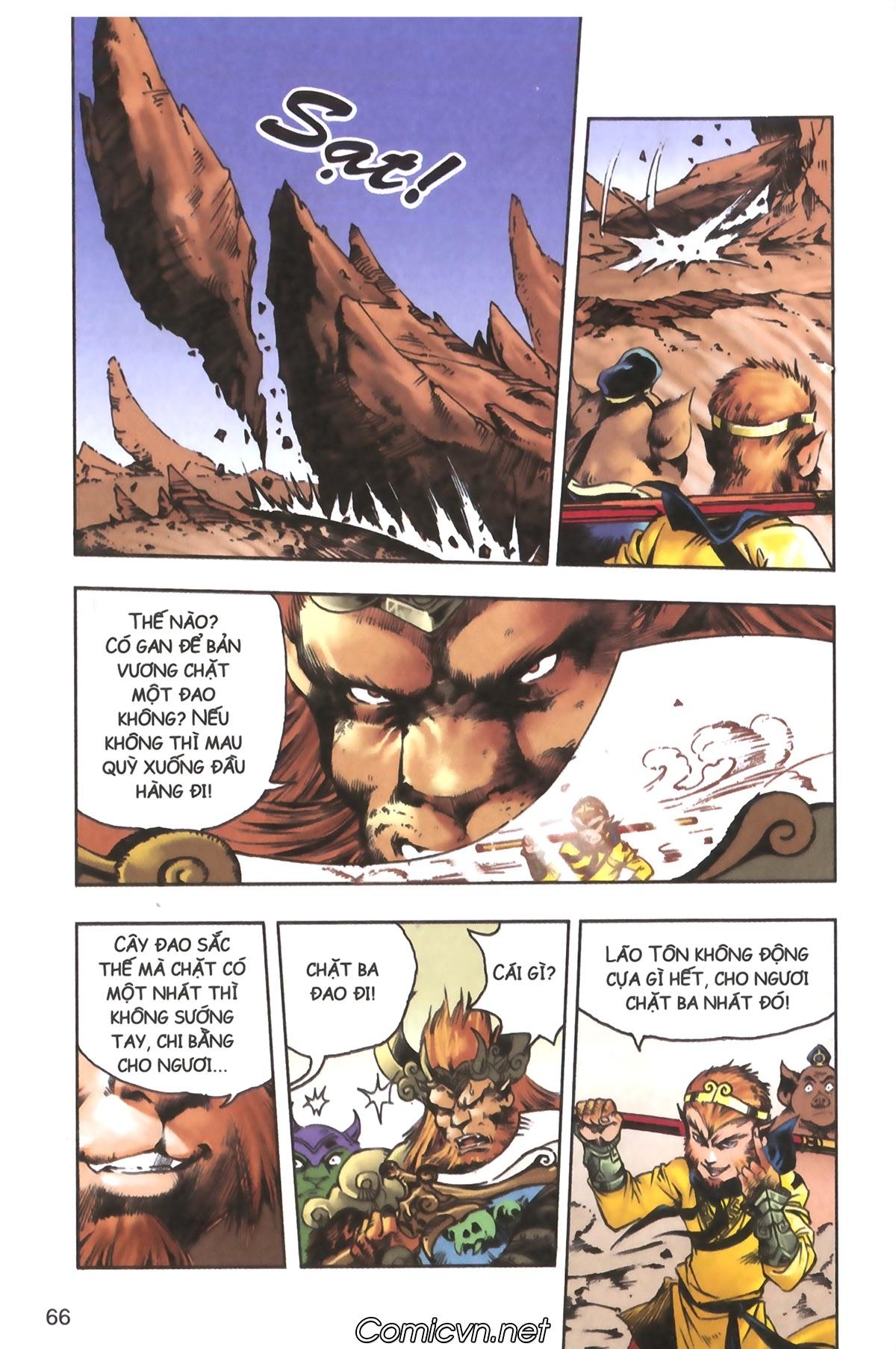 Tây Du Ký màu - Chapter 120 - Pic 26