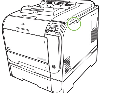 ELECTRONIC EQUIPMENT REPAIR CENTRE : HP CP2020 Color