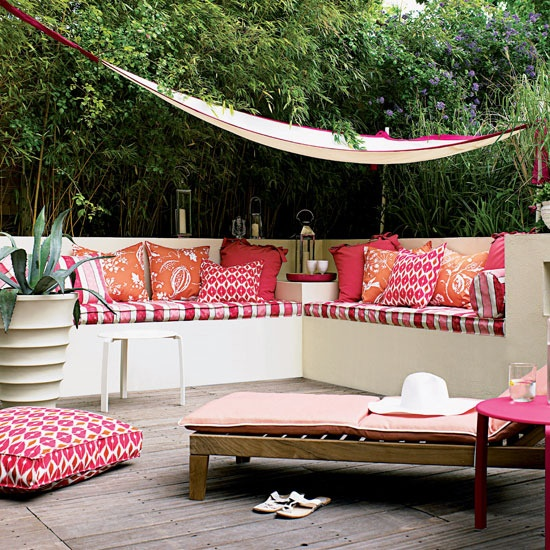 "Outdoor Moroccan Decor Design Ideas: A Vida Não é Colorida, é ""colorível"""