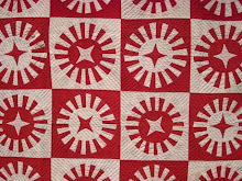 Red and White Quilt Exhibit