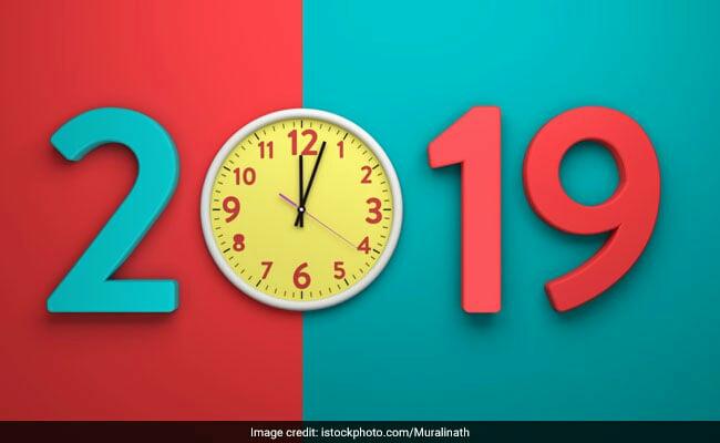 Hindi mai हैप्पी न्यू ईयर 2019: आपके प्रियजनों के लिए नए साल की शुभकामनाएं