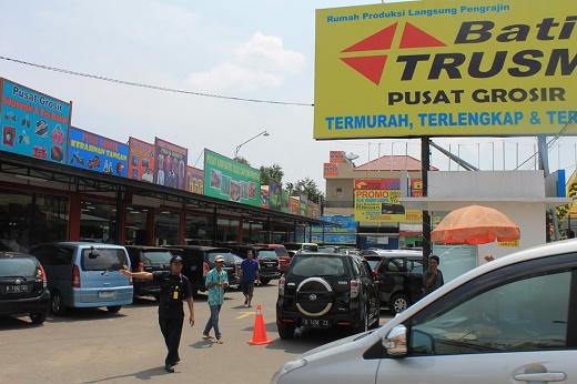 tempat beli batik Trusmi Cirebon