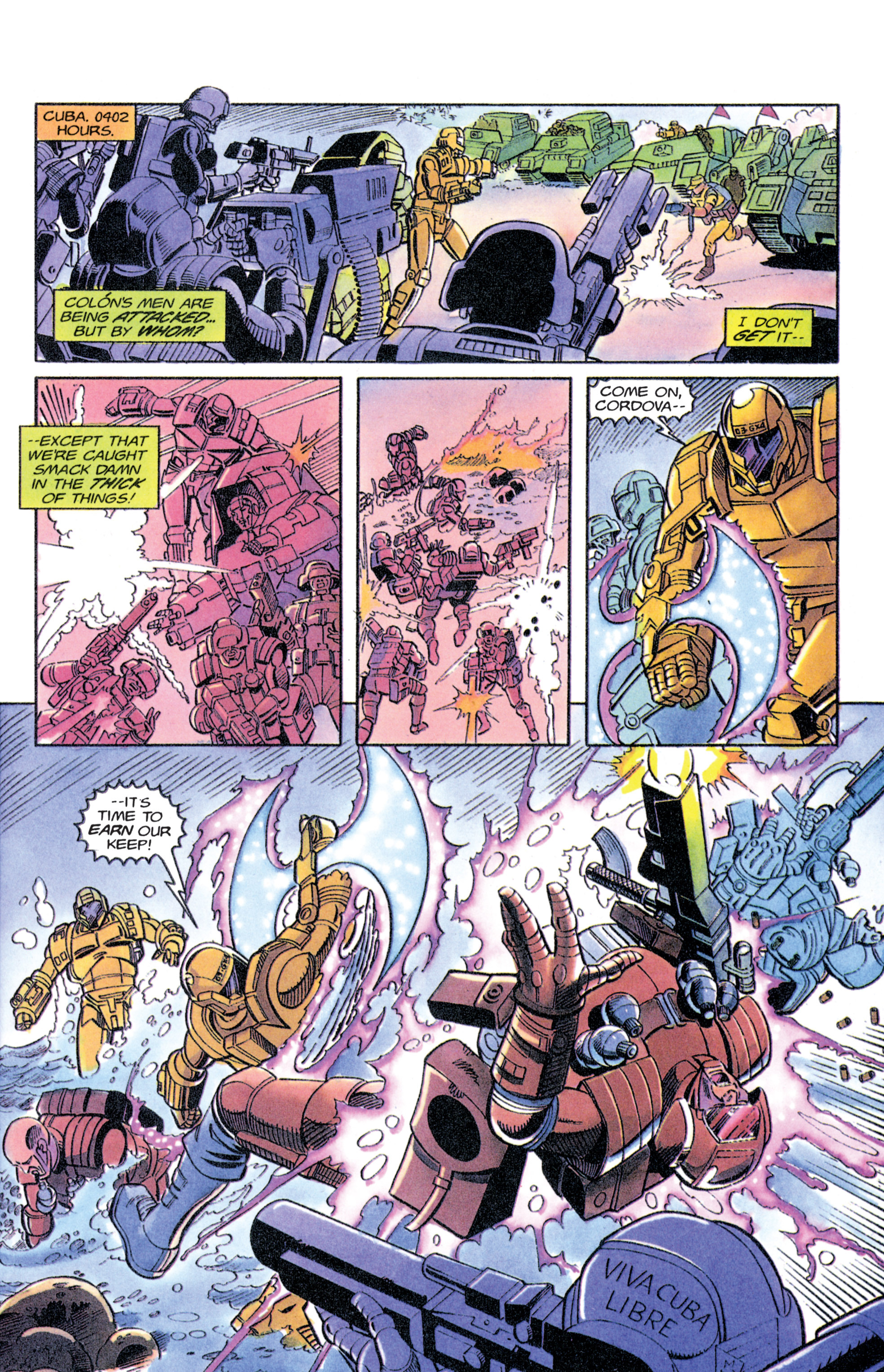 Read online Armorines comic -  Issue #11 - 2