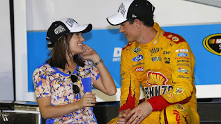 Logano And Wife
