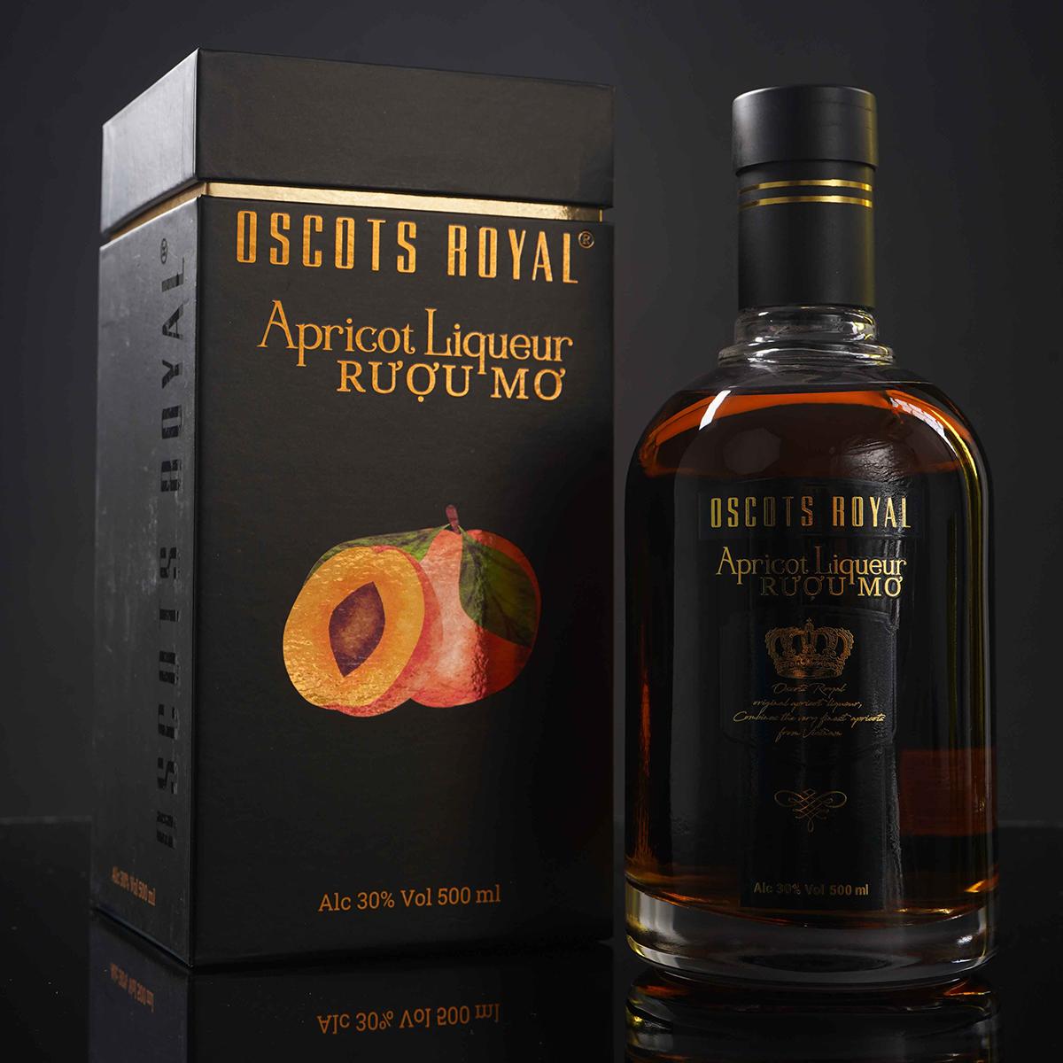 RƯỢU MƠ Oscots Royal Apricot Liqueur