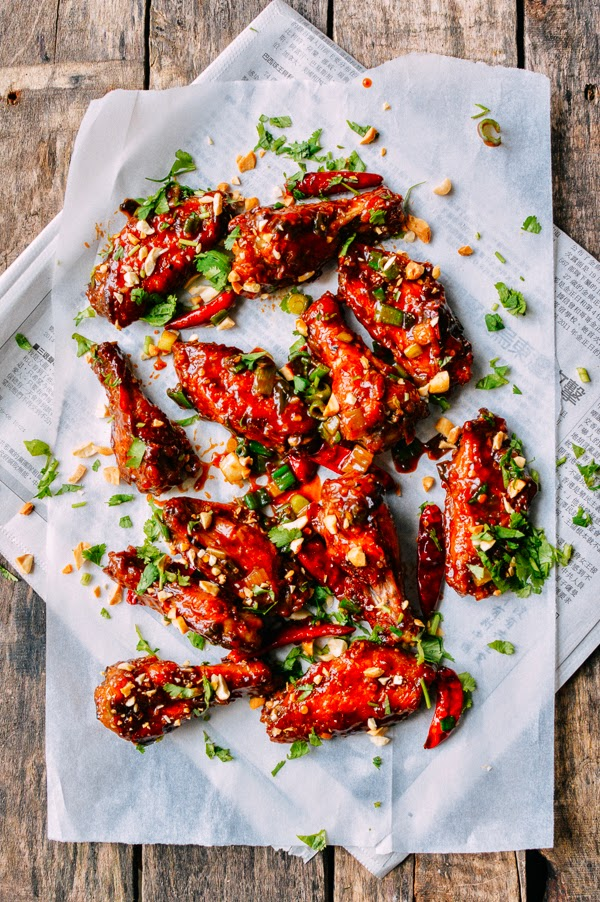 kung-pao-chicken-wings recipe