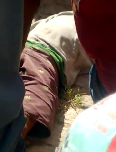 Homem baleado durante tentativa de assalto no centro de Poção