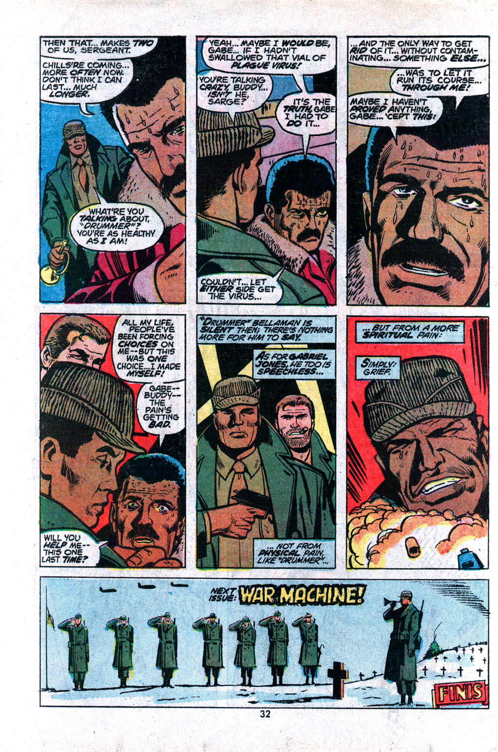 Read online Sgt. Fury comic -  Issue #117 - 34