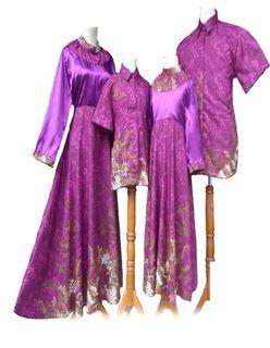 Model Baju Batik Couple Ayah Ibu Anak