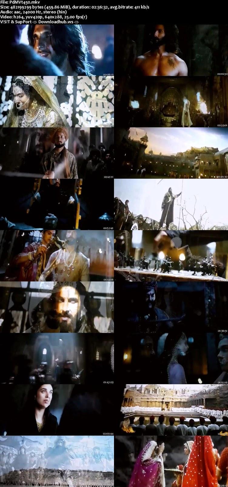Padmaavat 2018 Hindi 480p Pre-DVDRip