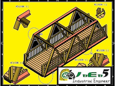Estudios Técnicos Para La Construcción De Un Puente Metálico-Madera En Zona Rural