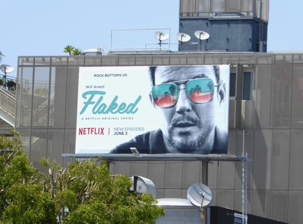 Flaked season 2 billboard