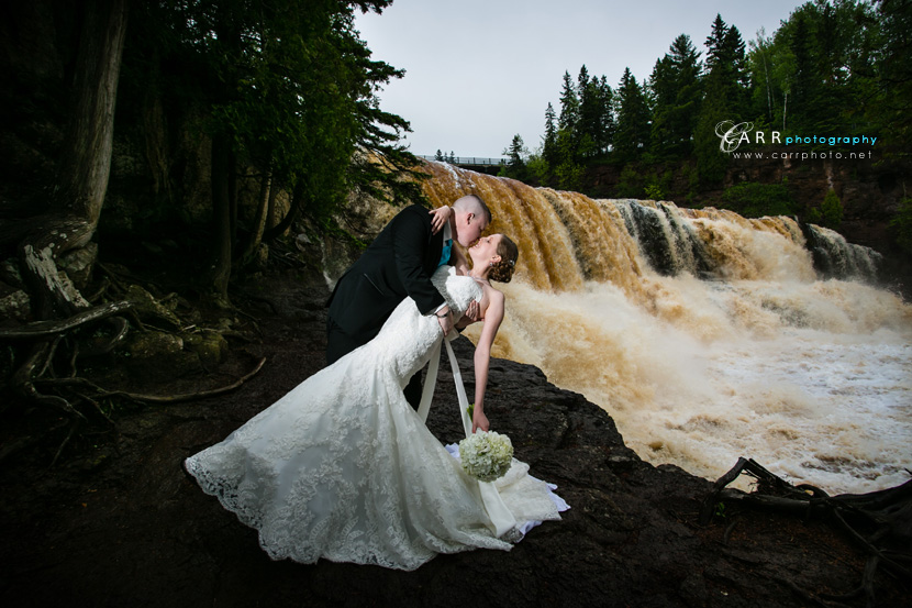 We Made It To Gooseberry Falls For A Few Pictures The Water Was Rushing That Day After Ceremony Time Dinner And Dancing