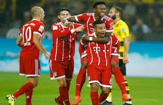 فيديو : بايرن ميونخ يسحق بروسيا دورتموند بثلاثة أهداف في ذروة بطولة الدوري الألماني