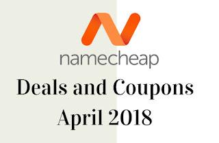 Namecheap - Deals and coupons for April-2018