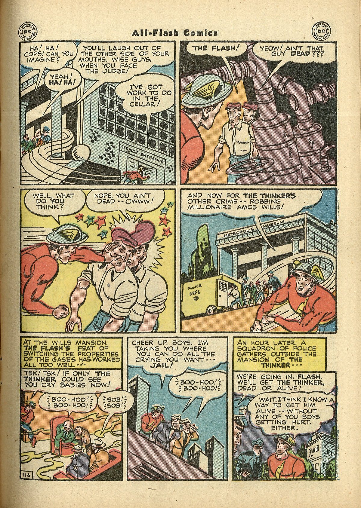 Read online All-Flash comic -  Issue #27 - 13