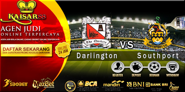 Prediksi Bola Jitu Darlington vs Southport 26 April 2018