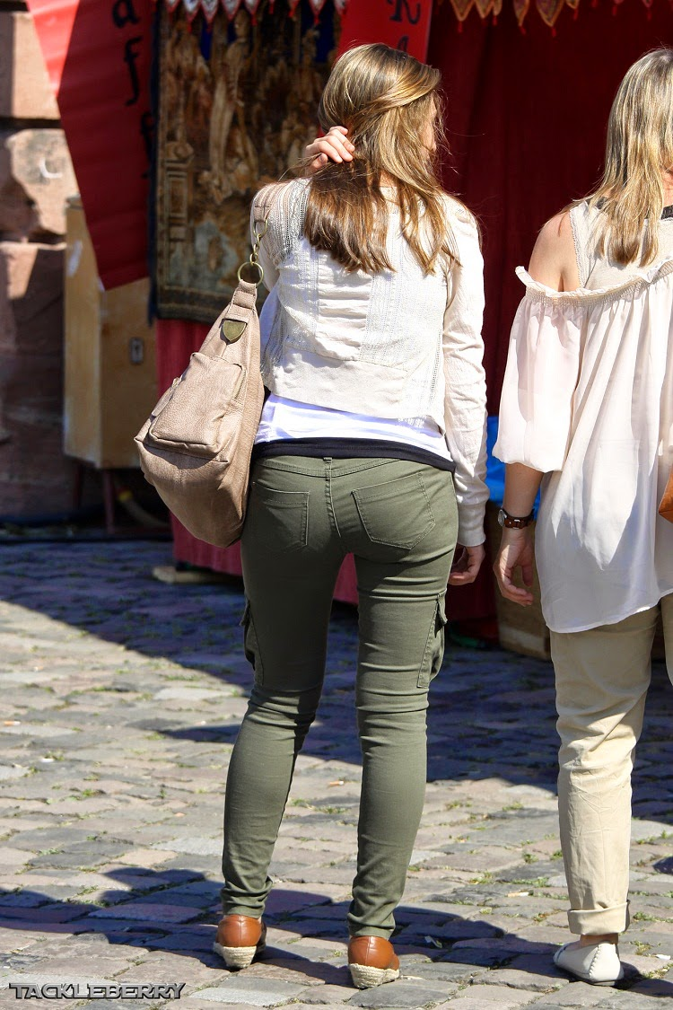 Sexy Girls On The Street, Girls In Jeans, Spandex And -1793