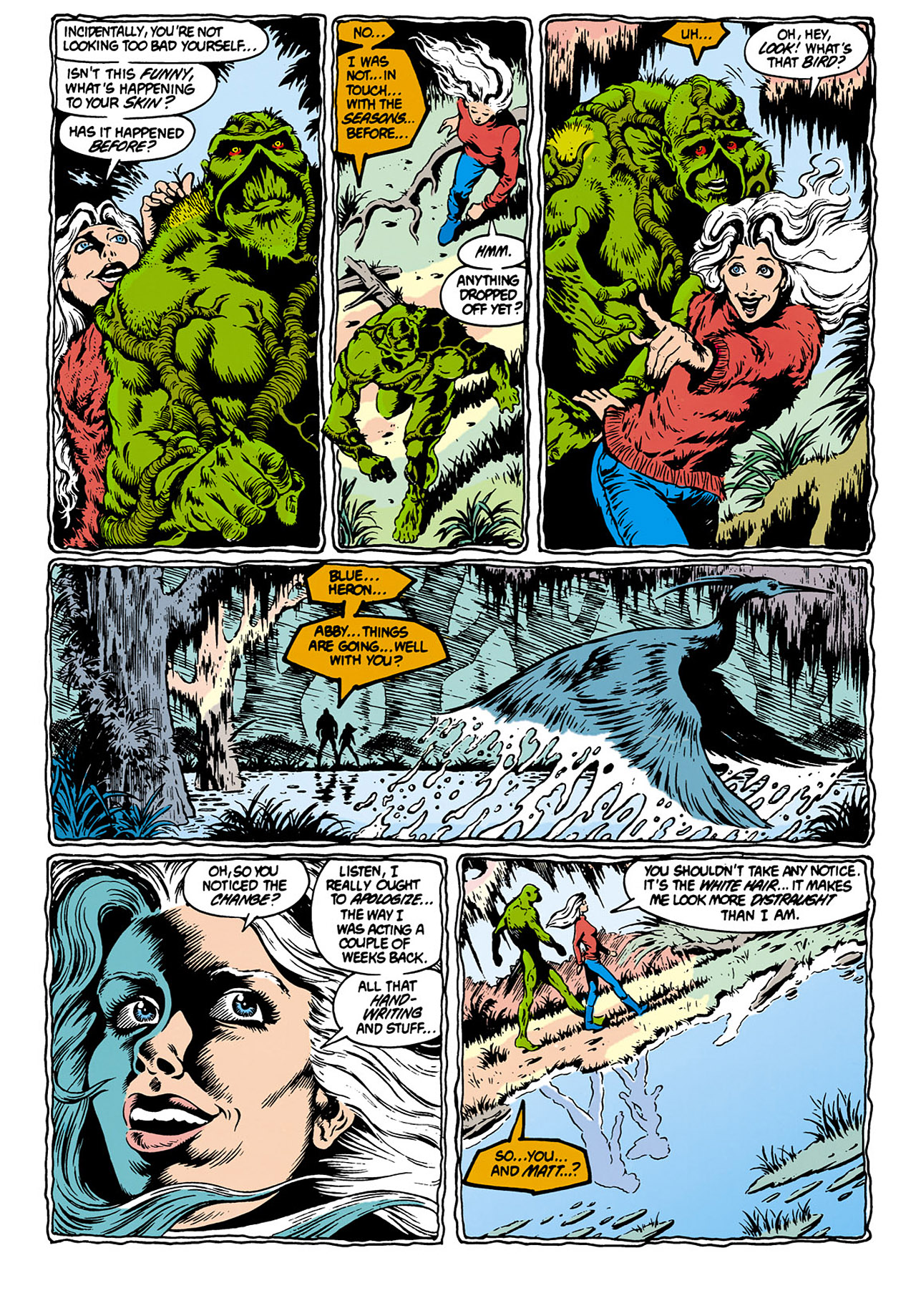 Swamp Thing (1982) Issue #28 #36 - English 4