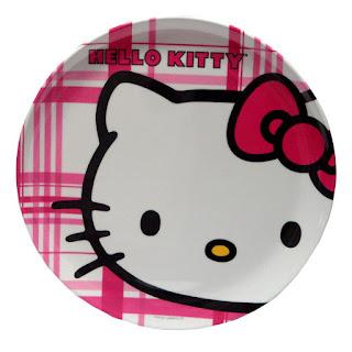 Gambar Piring Hello Kitty 2