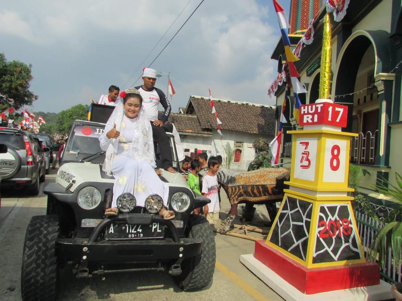 Antusias Desa Padarincang Serang Banten dalam Merayakan HUT ke 73