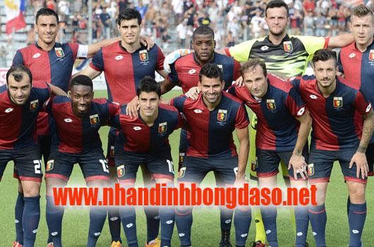 Genoa vs AS Roma www.nhandinhbongdaso.net