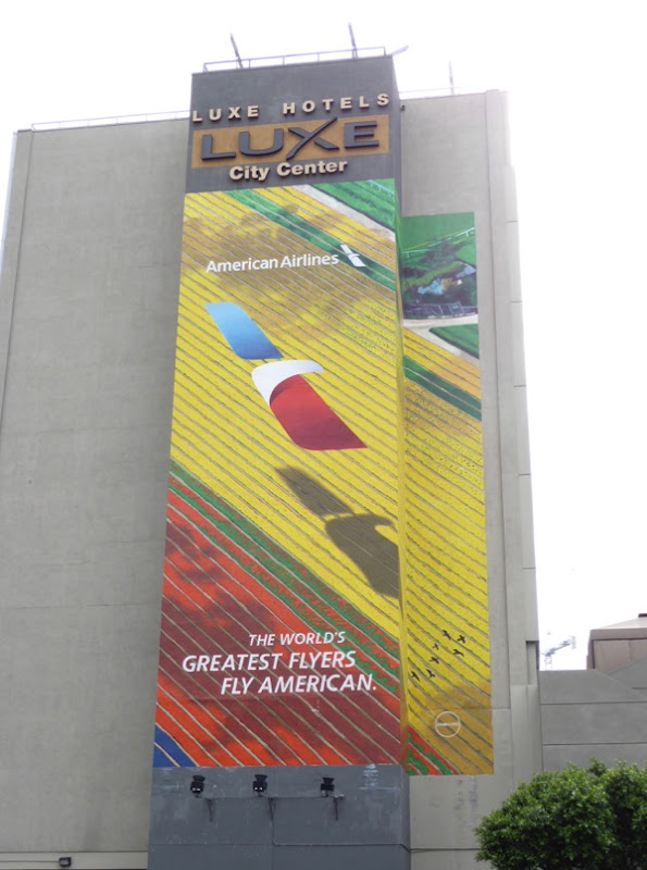 American Airlines worlds greatest flyers billboard
