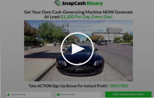 SNAPCASH Binary Review - It's a Scam or Legitimate