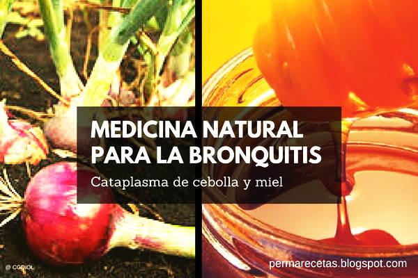Remedio Natural para la Bronquitis con cebolla y miel