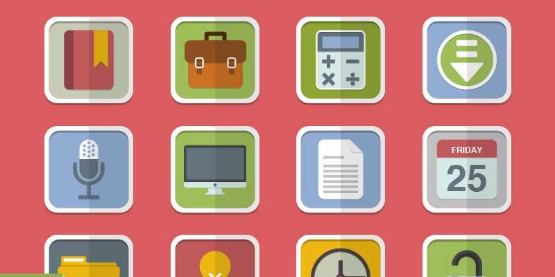 Free Flat Vector Icon Pack