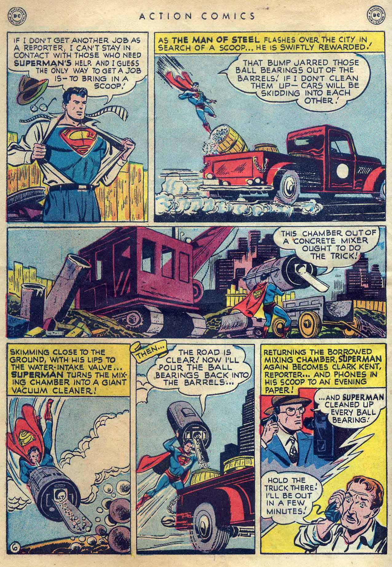 Read online Action Comics (1938) comic -  Issue #131 - 8