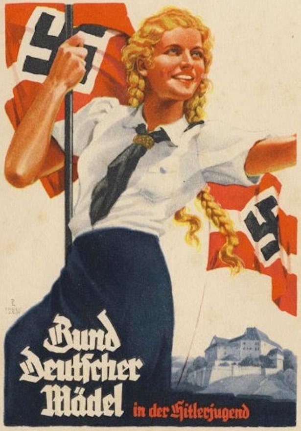 Nazi Party propaganda poster