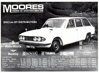 Moores of Brighton 1970 advert