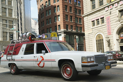 Ecto-1 Ghostbusters 2016 S.O.S. Fantômes