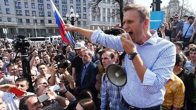 Masivas protestas en Rusia contra Putin