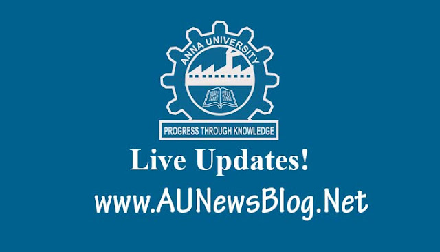 Anna University PG November December 2016 January 2017 Exams Time Table PDF