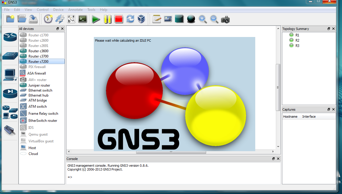 Cisco CCNA: GNS3 initial setup process, from start to finish