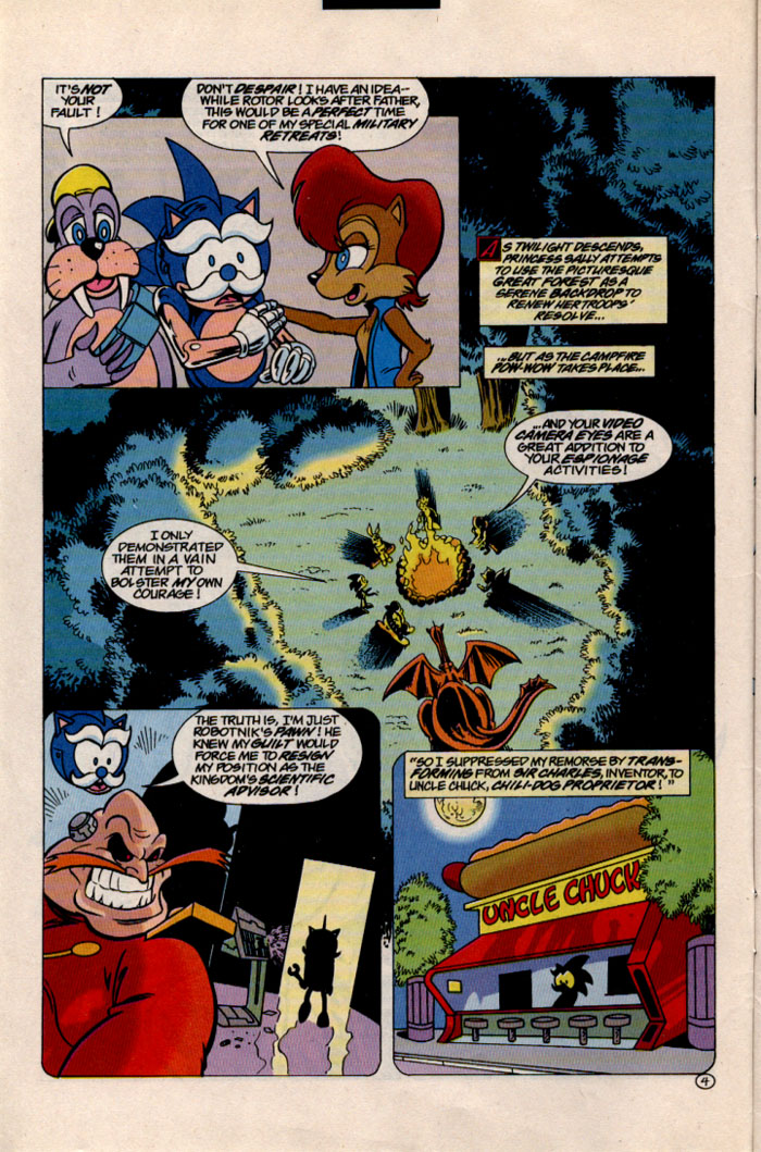 Read online Sonic The Hedgehog comic -  Issue #46 - 5