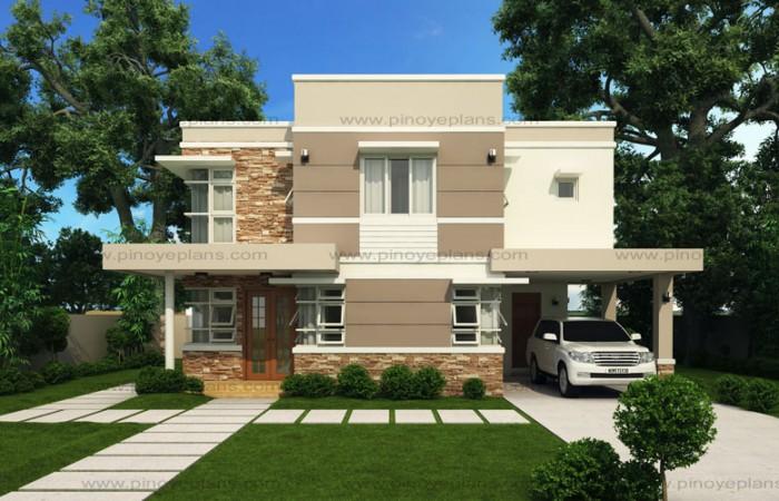 MODERN HOUSE DESIGN SERIES: MHD 2012006