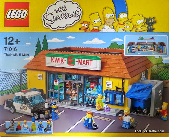Apu's LEGO The Simpson's Kwik E Mart Review set 71016