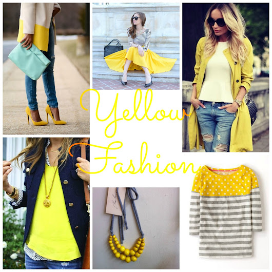 Inspirations Board del Giovedì --> Yes, I love #Yellow