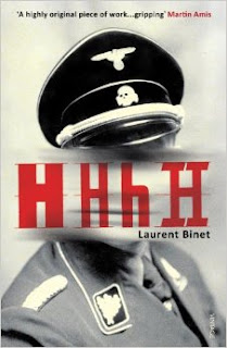 HHhH, a novel by Laurent Binet, front cover