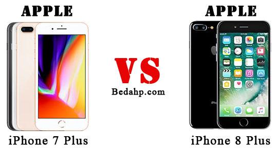 Perbedaan iPhone 7 Plus dan 8 Plus