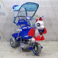 sepeda roda tiga family unicorn