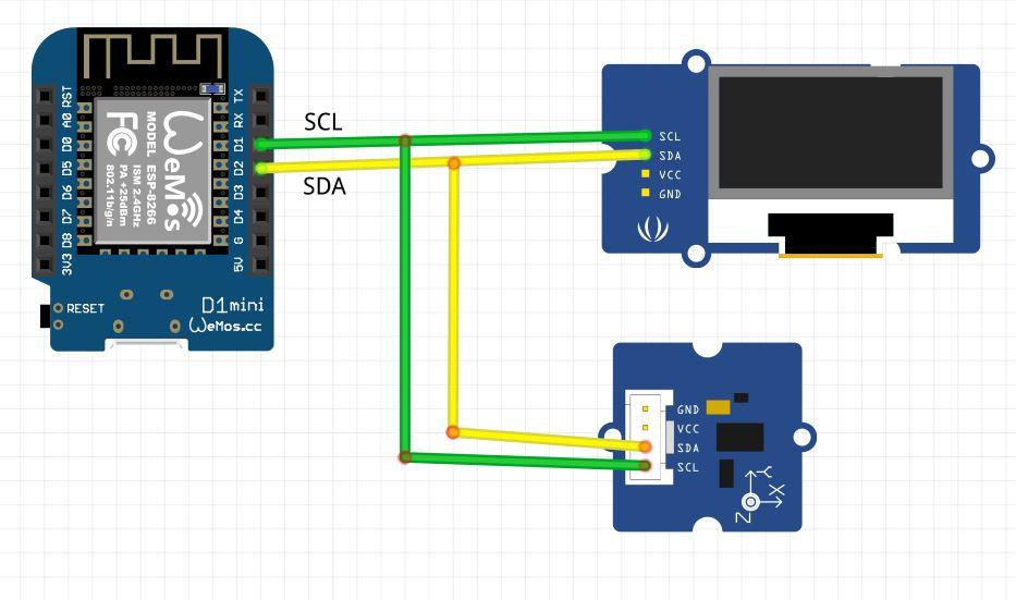 I2c length wire