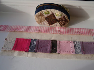 2nd side of patchwork purse and threadcatcher