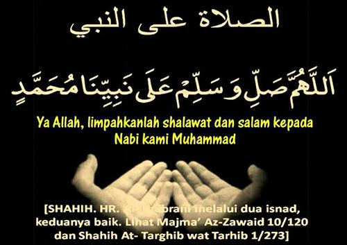 Kinds of Text Reading Groups Sholawat Nabi Latin Pendek Complete Meaning