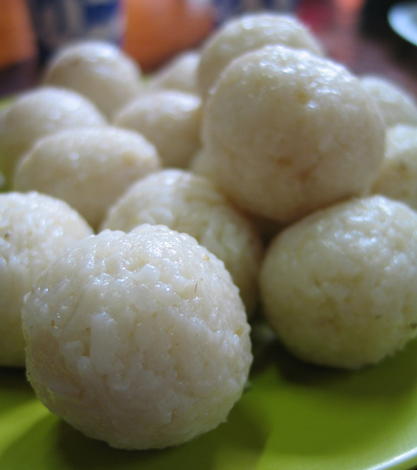 African Sticky Rice Balls the Best African Food Recipe