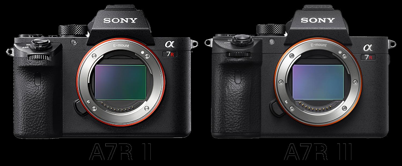 Sony A7R II и A7R III
