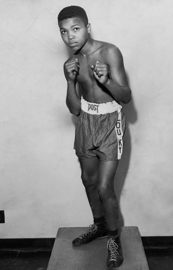 A biography of the boxer muhammad ali
